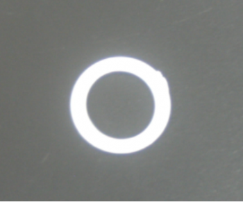 Ring plastic white