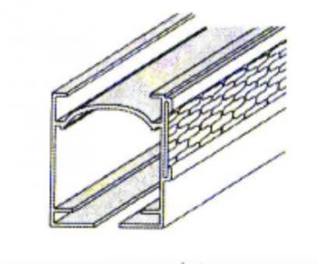 Velcroprofiel optreksysteem