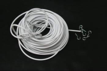 Spiraaldraad — plastiek overtrokken